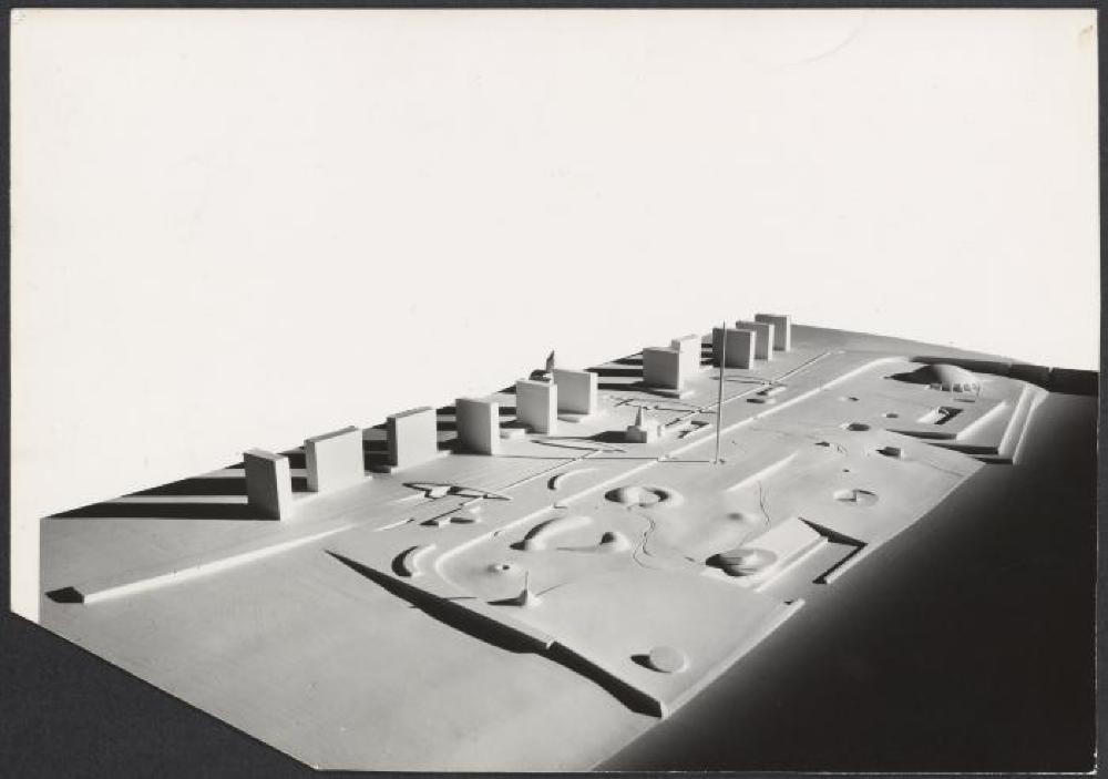 Model for Jefferson Memorial Park
