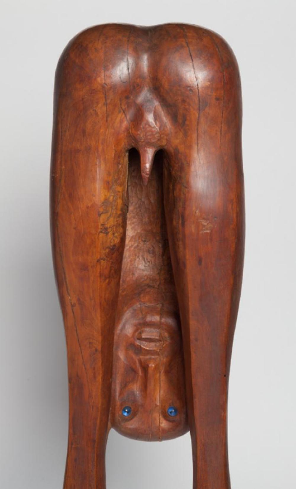 Boy Looking through Legs, image 6