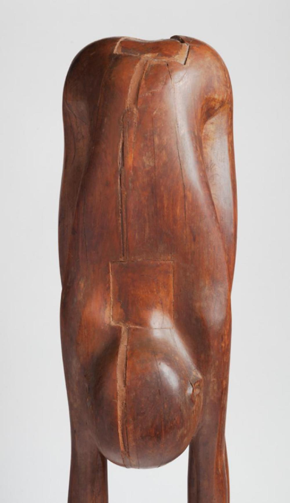 Boy Looking through Legs, image 8