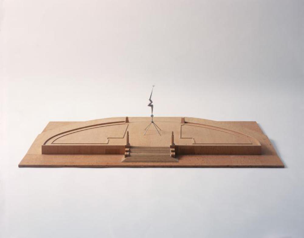 Model for Bolt of Lightning...Memorial to Ben Franklin, image 1