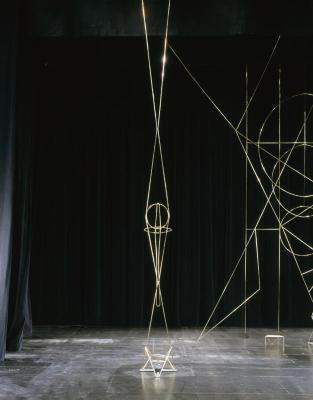 Stage Right Elevation with Sword