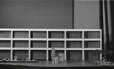 Model for First National Bank of Fort Worth Plaza (Fort Worth, Texas)