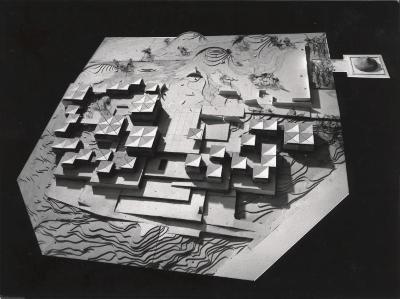 Model for Billy Rose Sculpture Garden