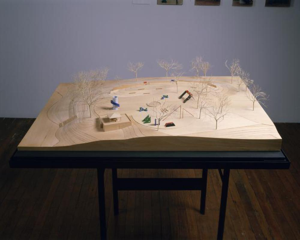 Model for Playscapes, Piedmont Park, Atlanta, Georgia