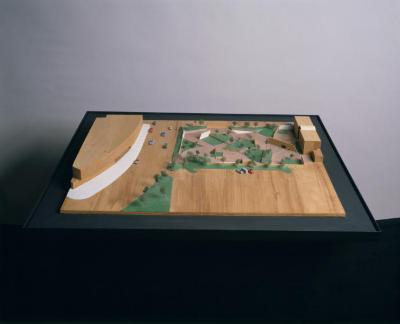 Model for Lillie and Hugh Roy Cullen Sculpture Garden, The Museum of Fine Arts, Houston