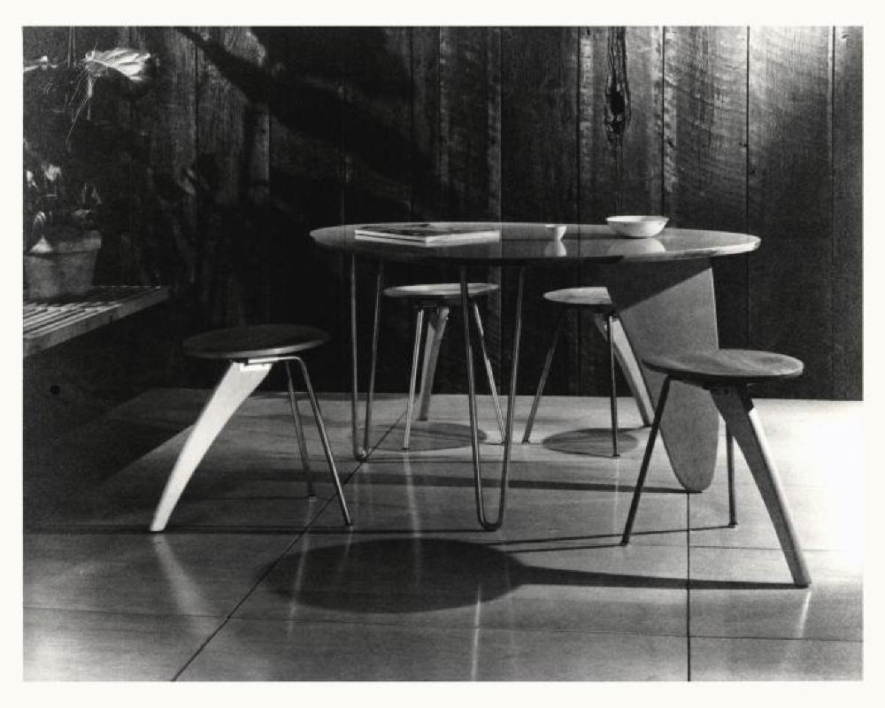 Three-Legged Dinette Table