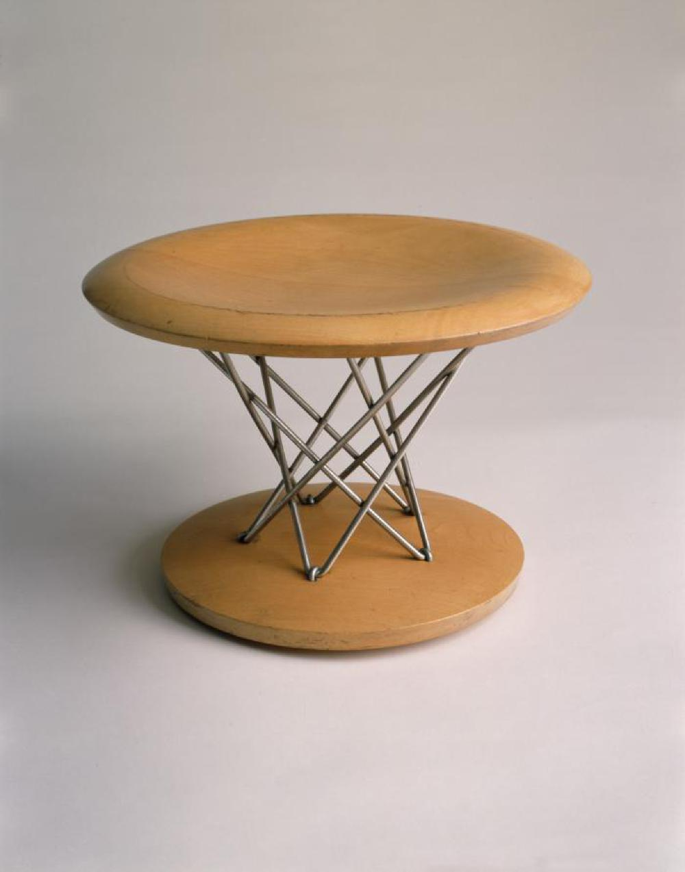 Rocking Stool in Wire Form