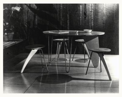 Three-Legged Dinette Table