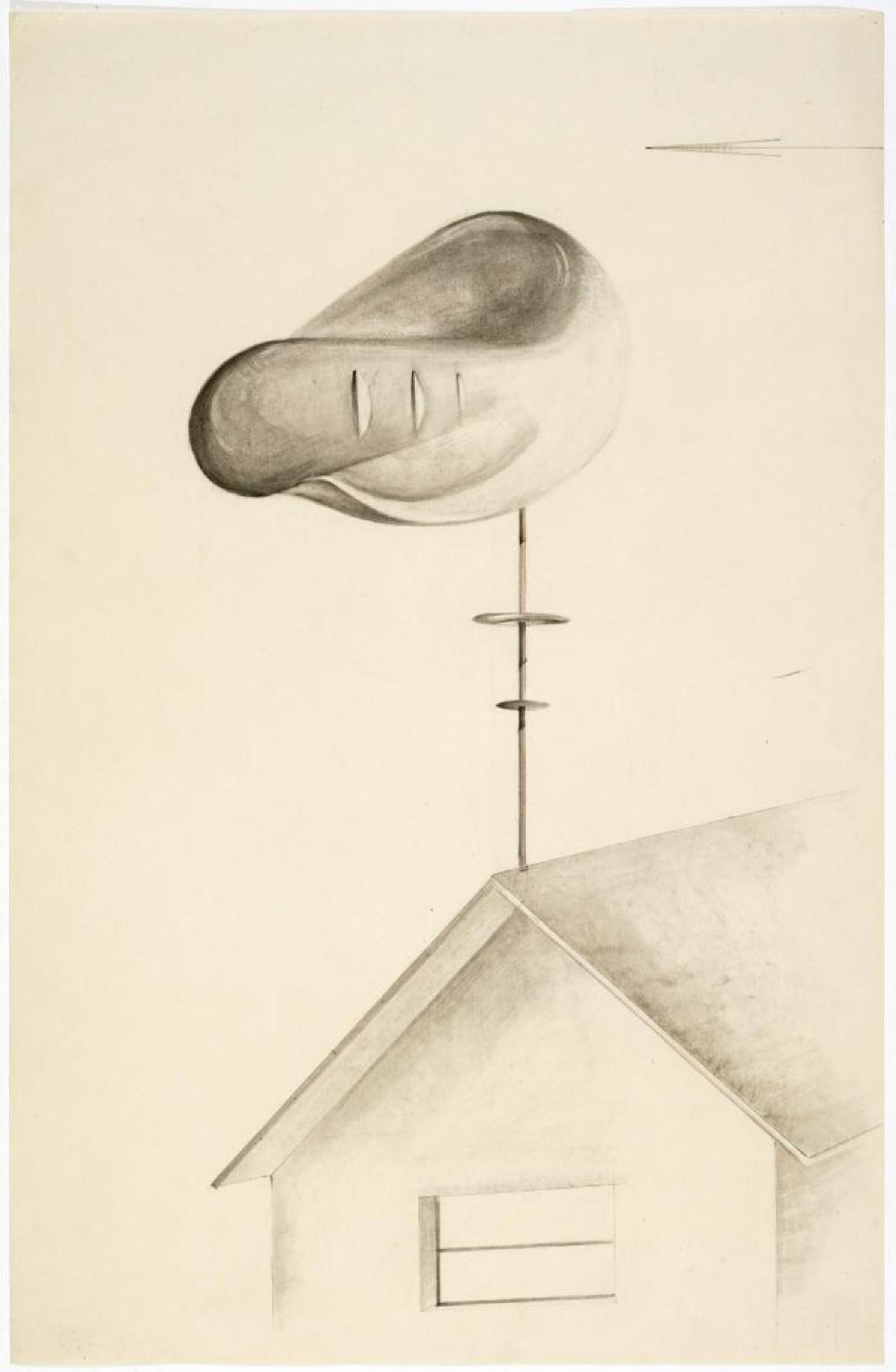 Study for Musical Weathervane