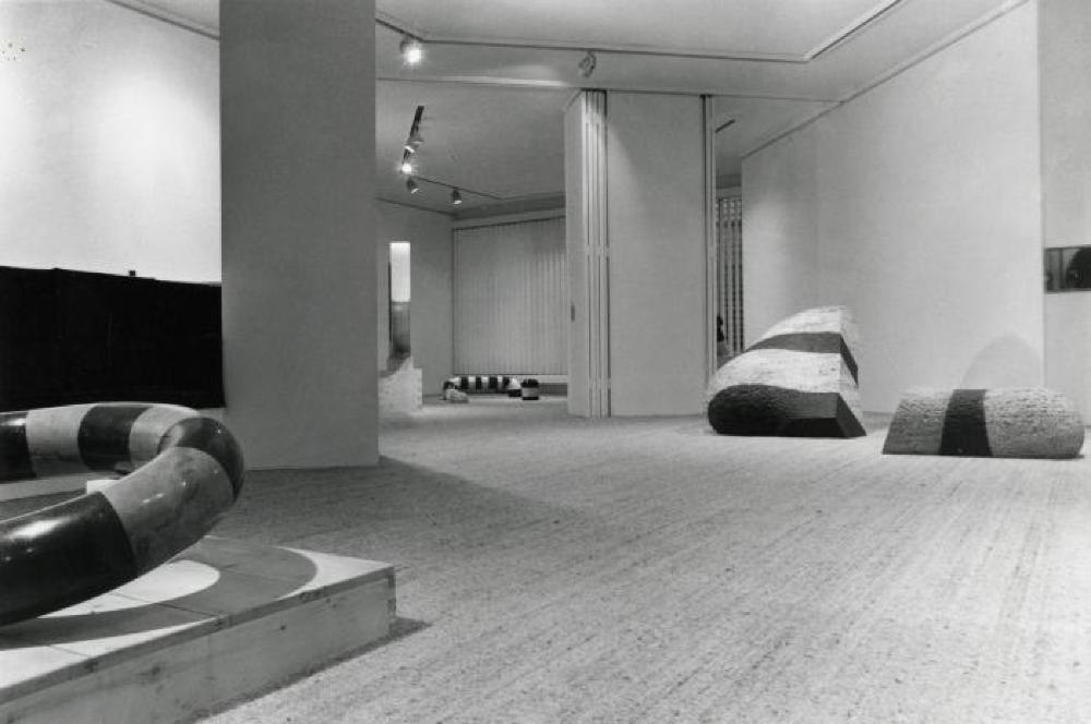 "Exhibition photograph: ""Isamu Noguchi,"" Gimpel Fils, London (September 14 - October 7, 1972) - Photograph: Deste Photography"