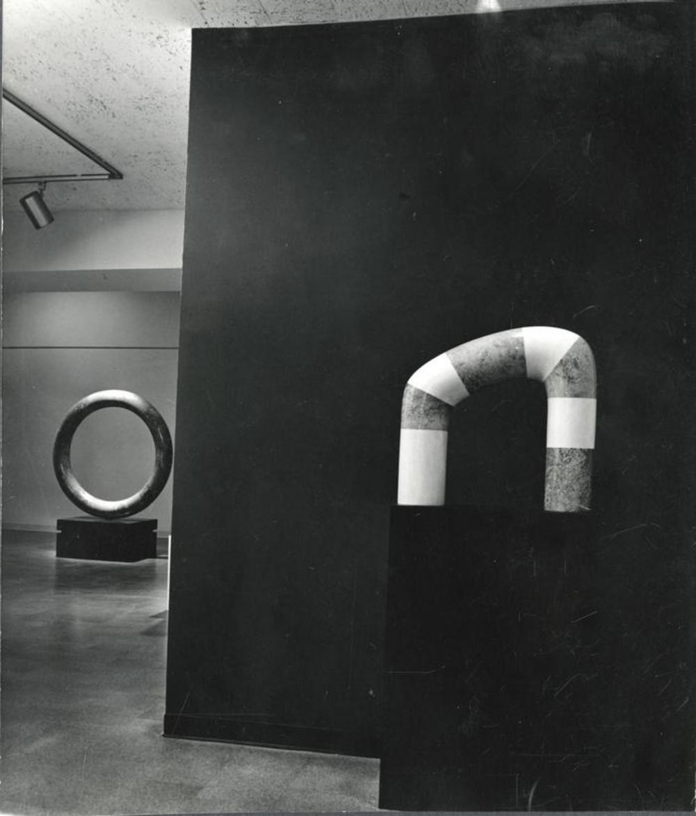 "Exhibition photograph: "" Isamu Noguchi,"" Cordier & Ekstrom Gallery, New York (November 4 - November 28, 1970) - Photograph: Arnold Eagle"