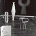 Exhibition photograph: Isamu Noguchi, Mitsukoshi Department Store (August 18-27, 1950) - Photograph: Isamu Noguchi
