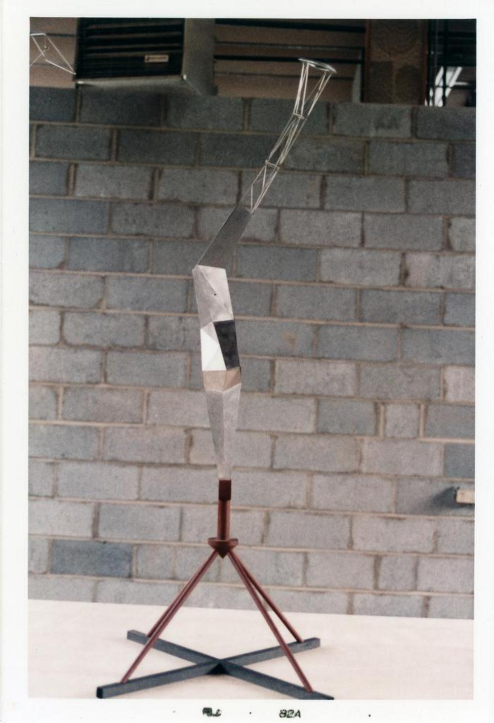 Model for Bolt of Lightning...Memorial to Ben Franklin, image 10