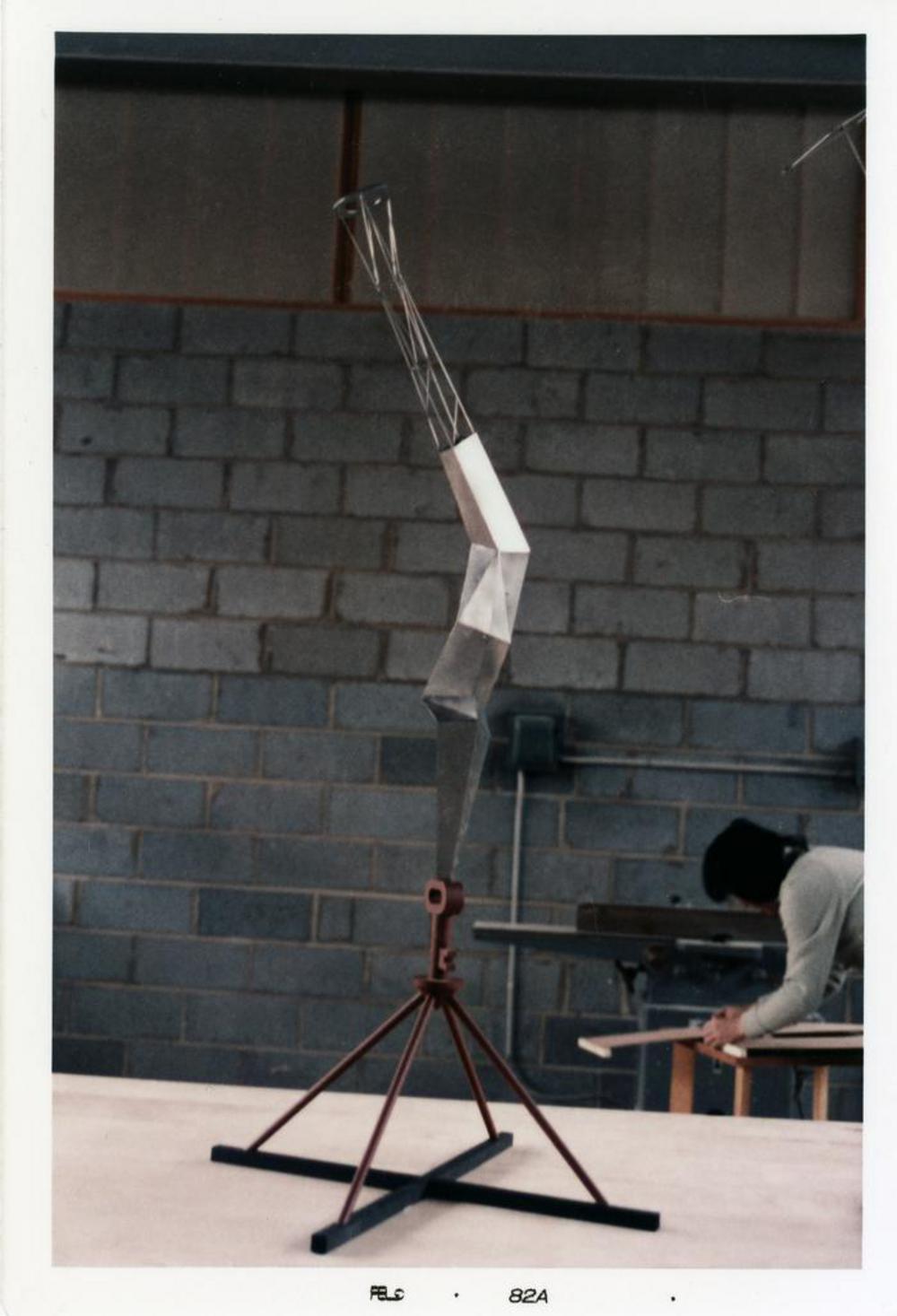 Model for Bolt of Lightning...Memorial to Ben Franklin, image 13