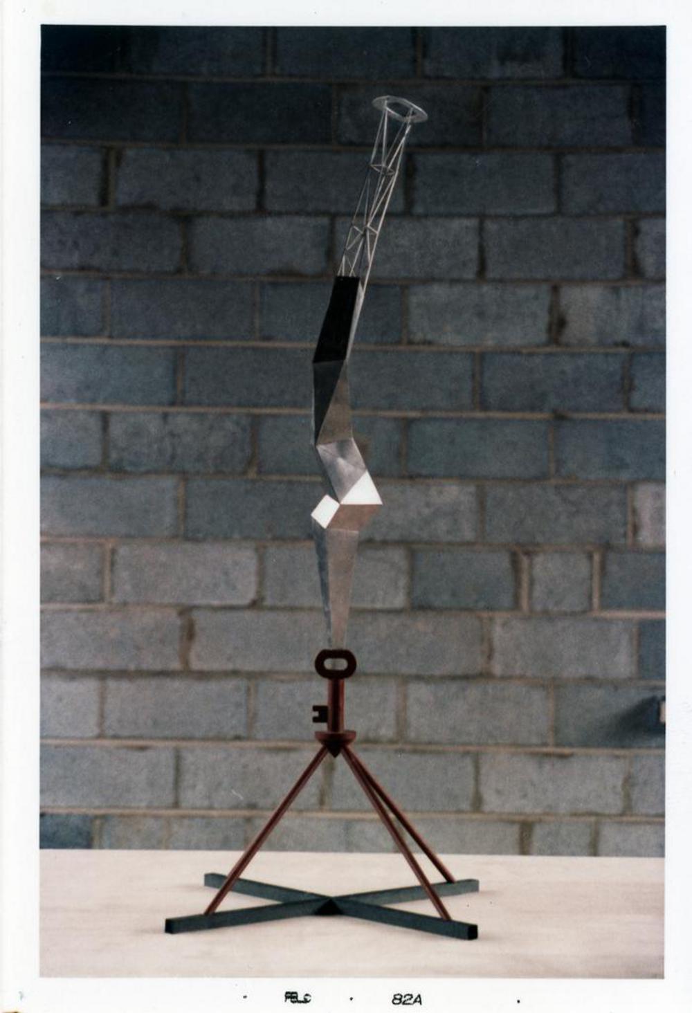 Model for Bolt of Lightning...Memorial to Ben Franklin, image 9