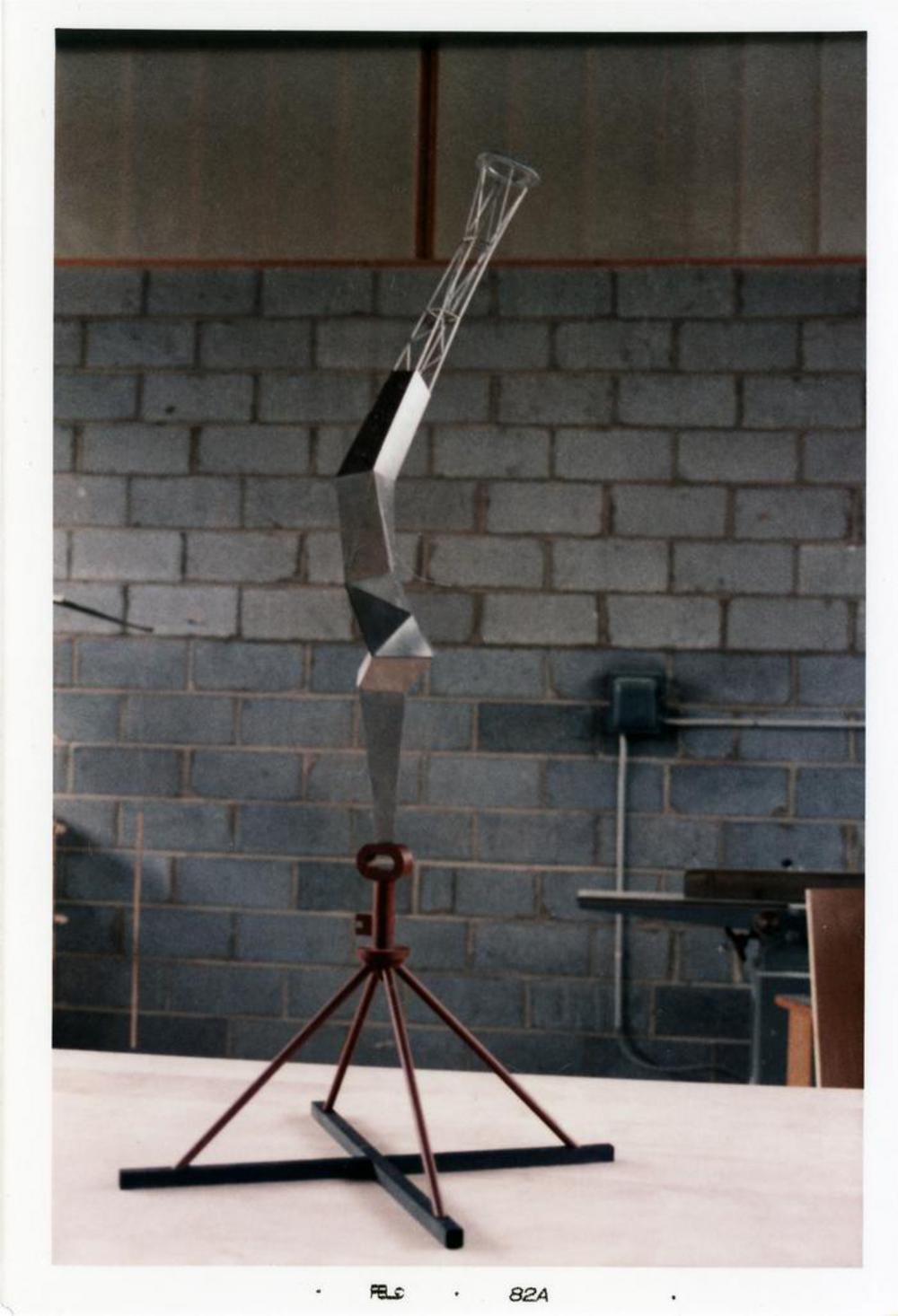 Model for Bolt of Lightning...Memorial to Ben Franklin, image 14
