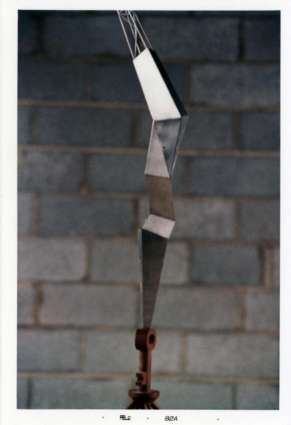 Model for Bolt of Lightning...Memorial to Ben Franklin, image 4