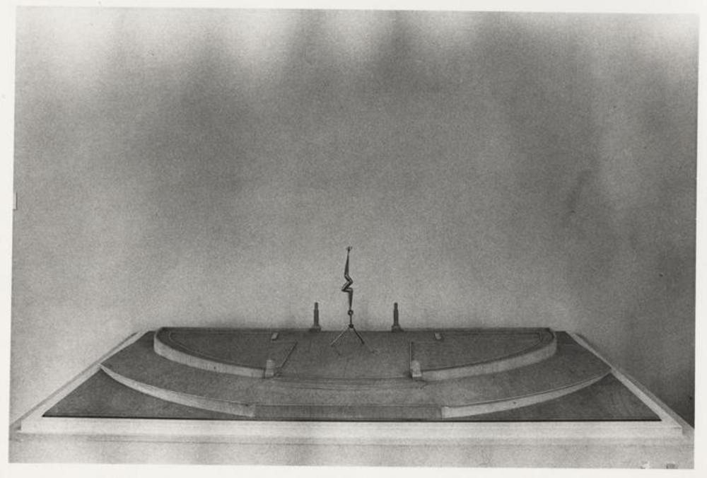 Model for Bolt of Lightning...Memorial to Ben Franklin, image 3