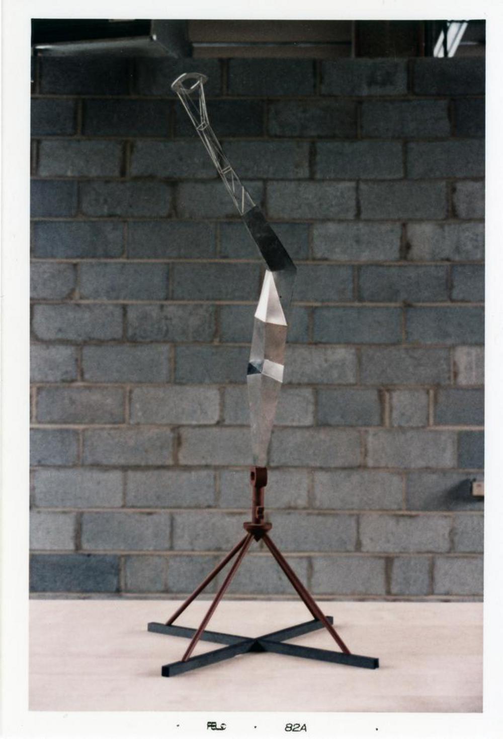 Model for Bolt of Lightning...Memorial to Ben Franklin, image 12