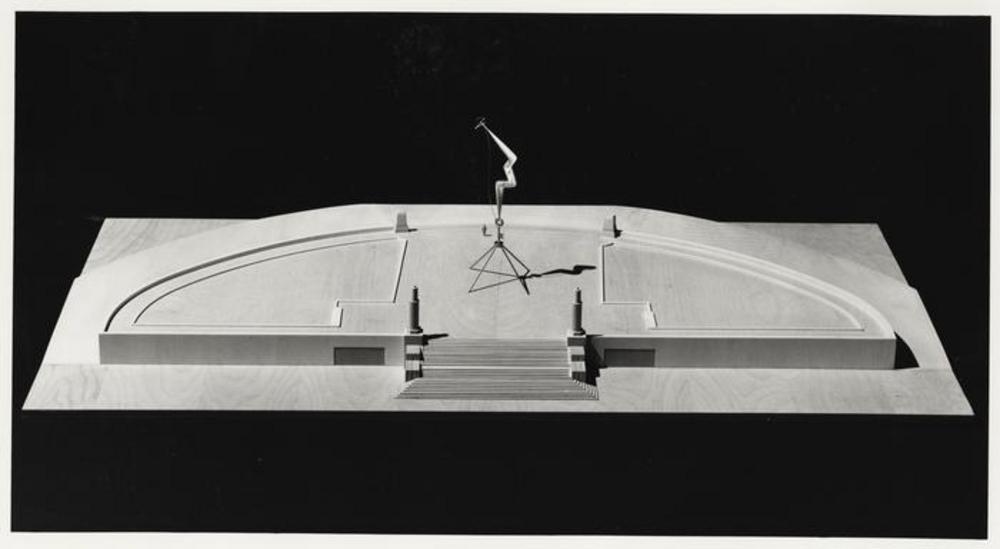 Model for Bolt of Lightning...Memorial to Ben Franklin, image 5