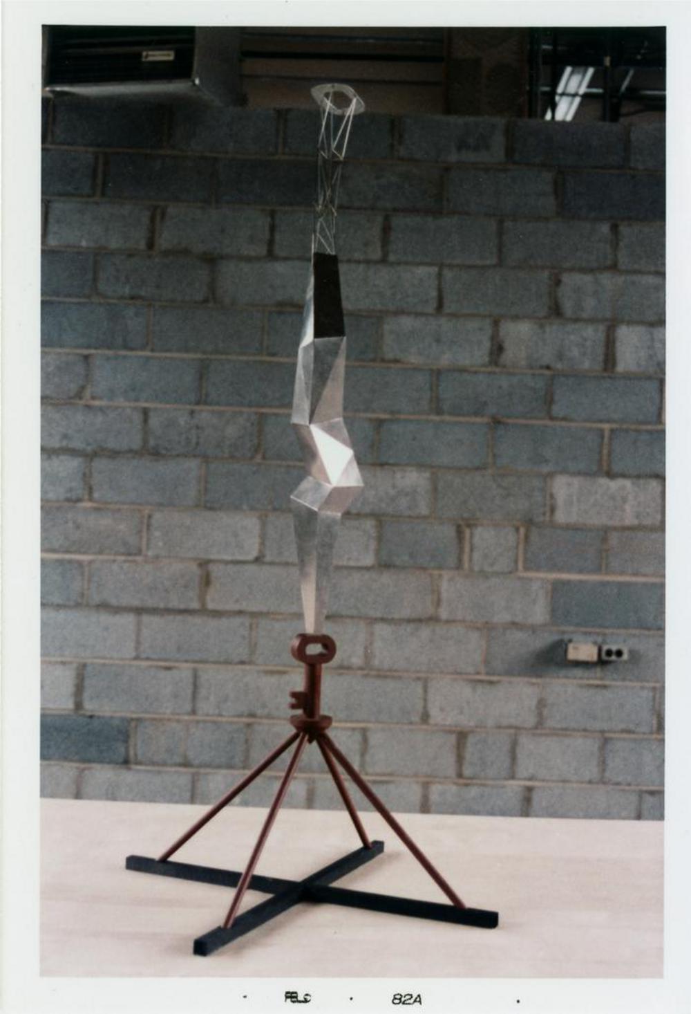 Model for Bolt of Lightning...Memorial to Ben Franklin, image 15