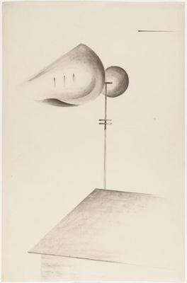 "Study for ""Musical Weathervane"""