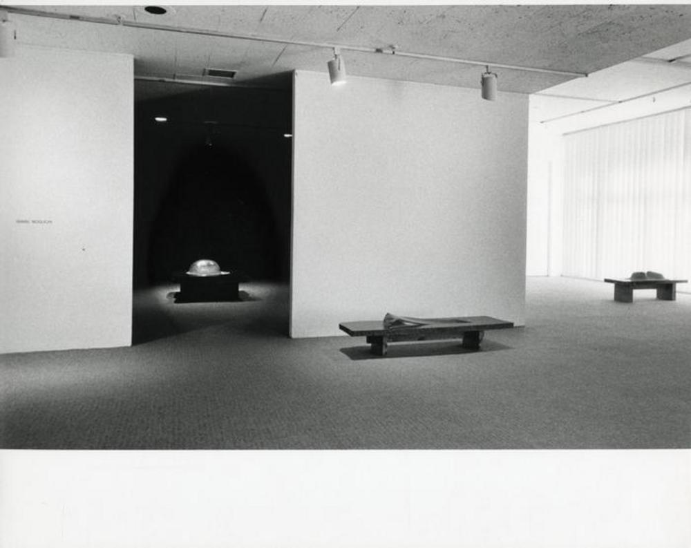 """75th Birthday Exhibition, Landscape Tables, 1968 - 79,"" Andre Emmerich Gallery, February 16, 1980 - March 15, 1980."