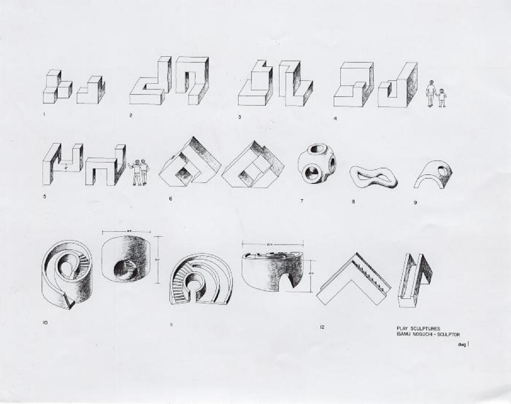 Play Equipment. Study models