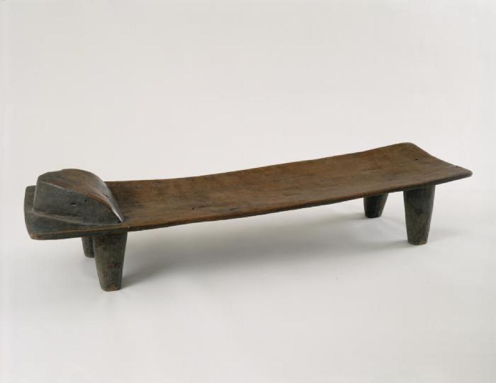 Senufo (Côte d'Ivoire); Bed; Wood; 15 1/2 x 16 x 62 in.; Collection of Isamu Noguchi. (Study Collection; Collectibles, C-S-1)
