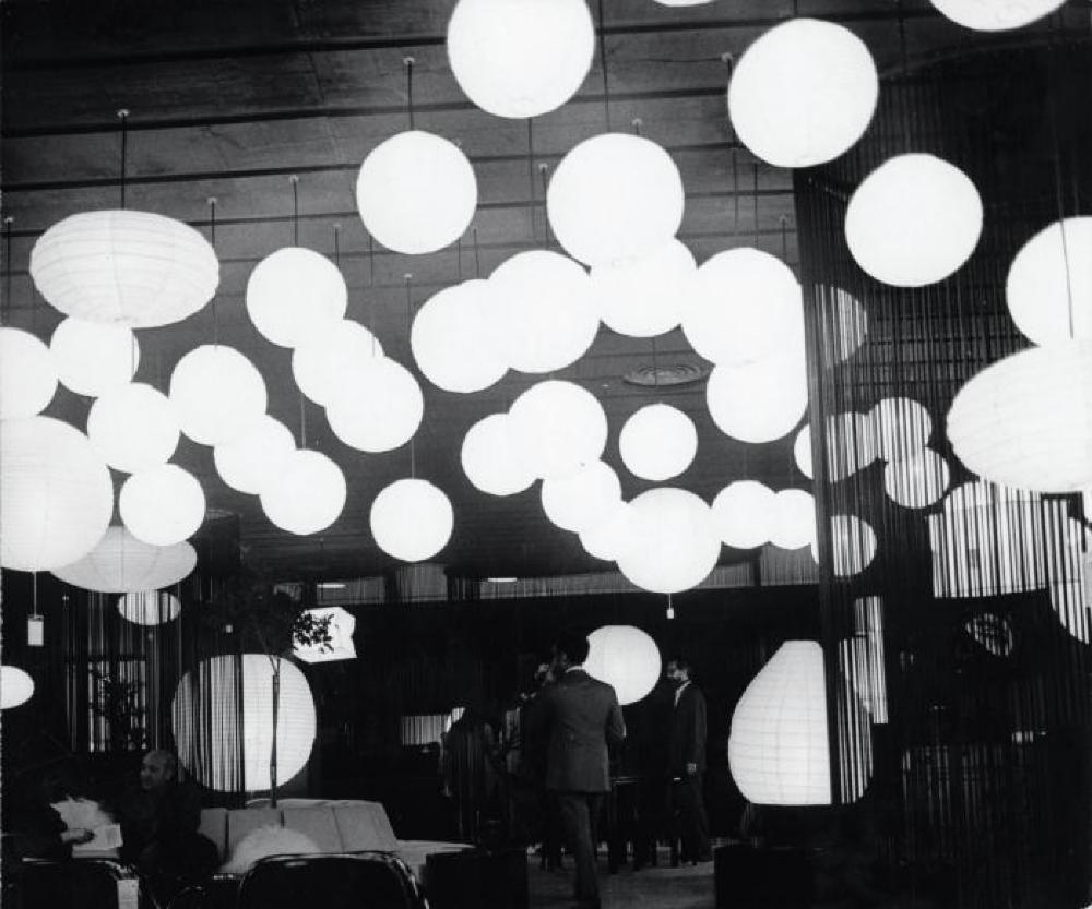 Opening of Akari on display at Bloomingdales, New York