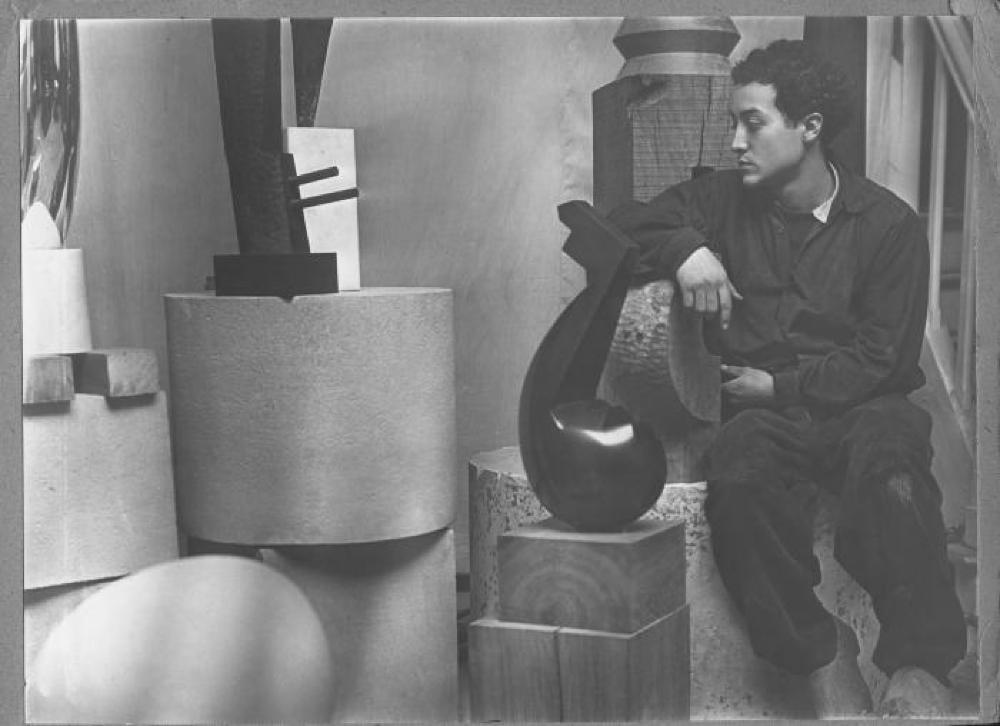 Isamu Noguchi in Paris