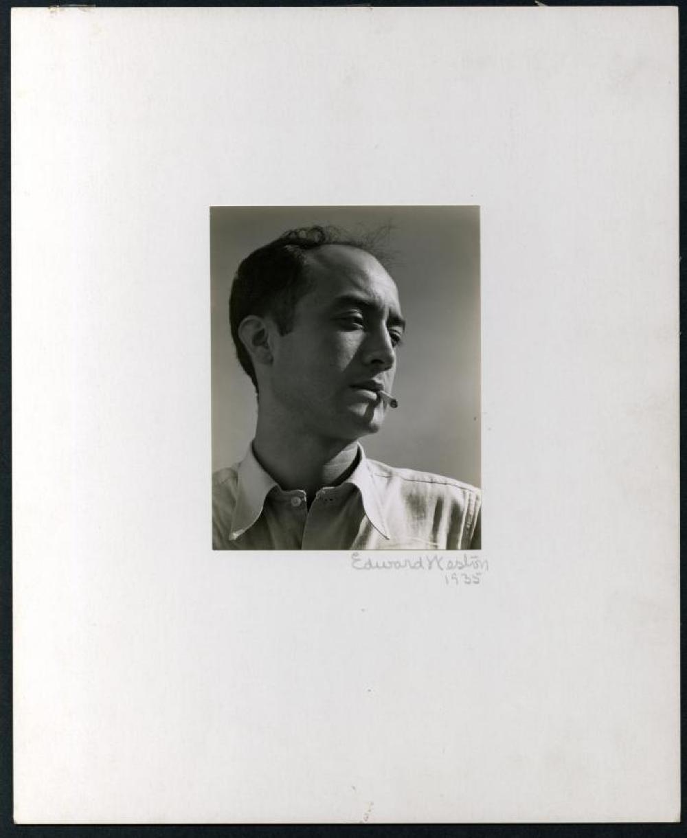 Portrait of Isamu Noguchi