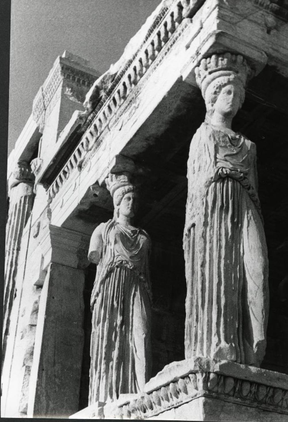 Porch of Caryatids, Erechtheion, Acropolis, Athens, Greece