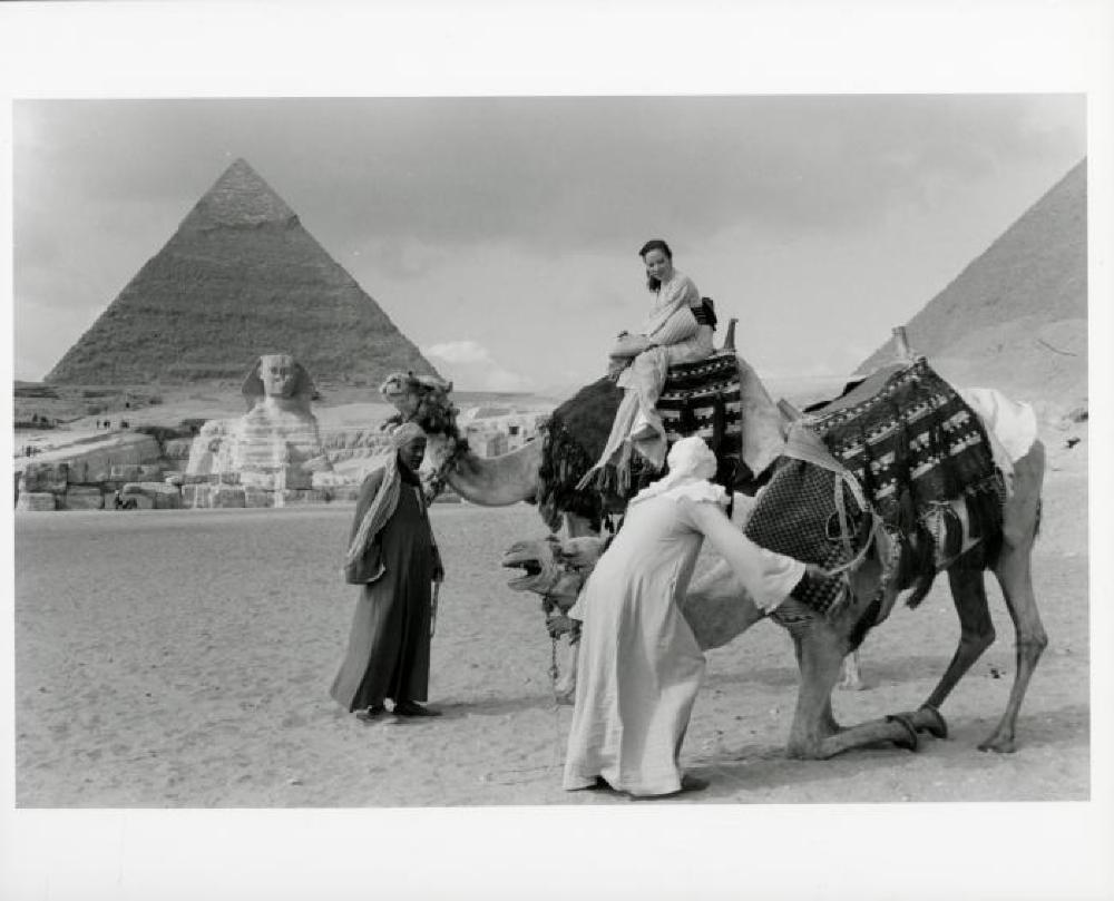 "Yoshiko ""Shirley"" Yamaguchi, Giza, Egypt"