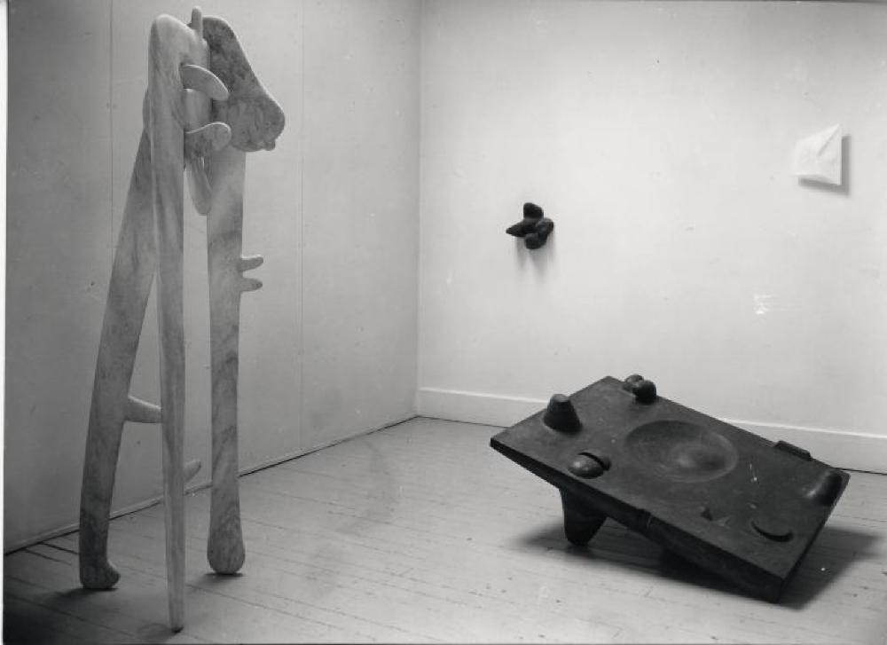 """Isamu Noguchi,"" Egan Gallery, March 1, 1949 - March 26, 1949."