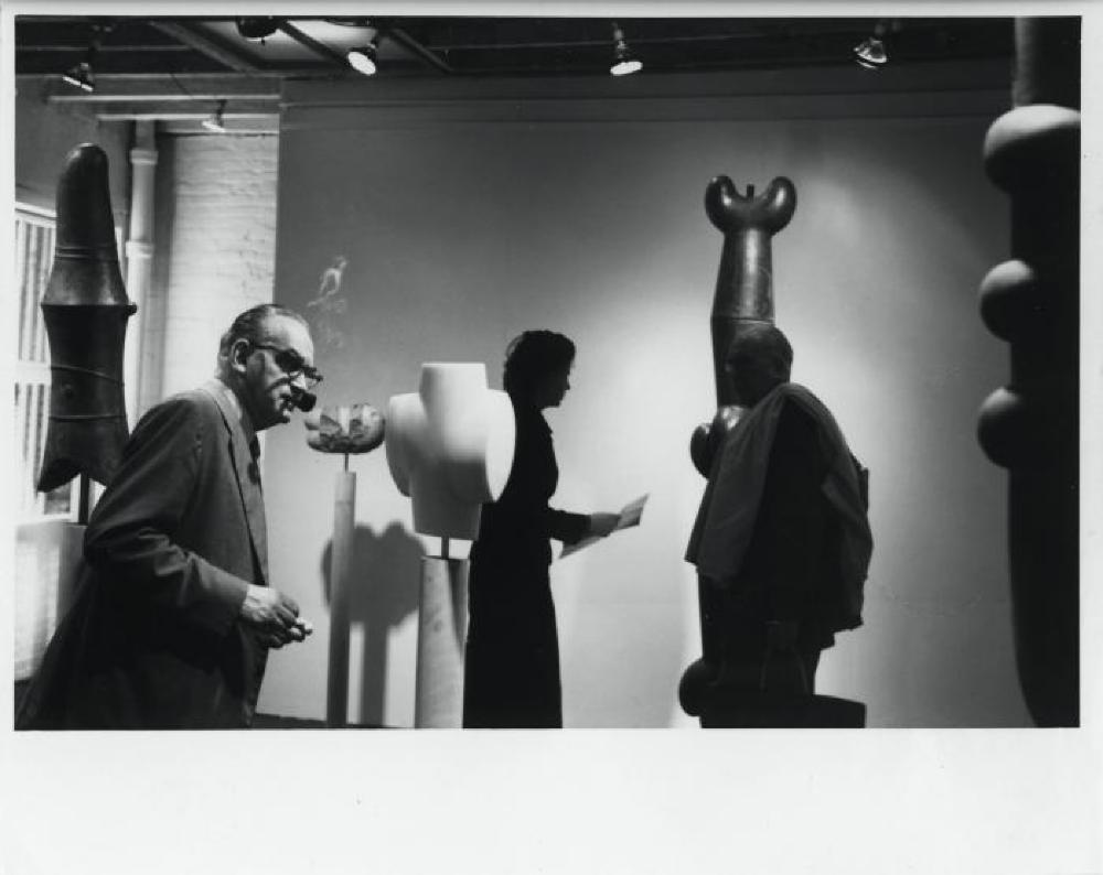 """""""Isamu Noguchi,"""" Stable Gallery, April 29, 1959 - May 30, 1959."""