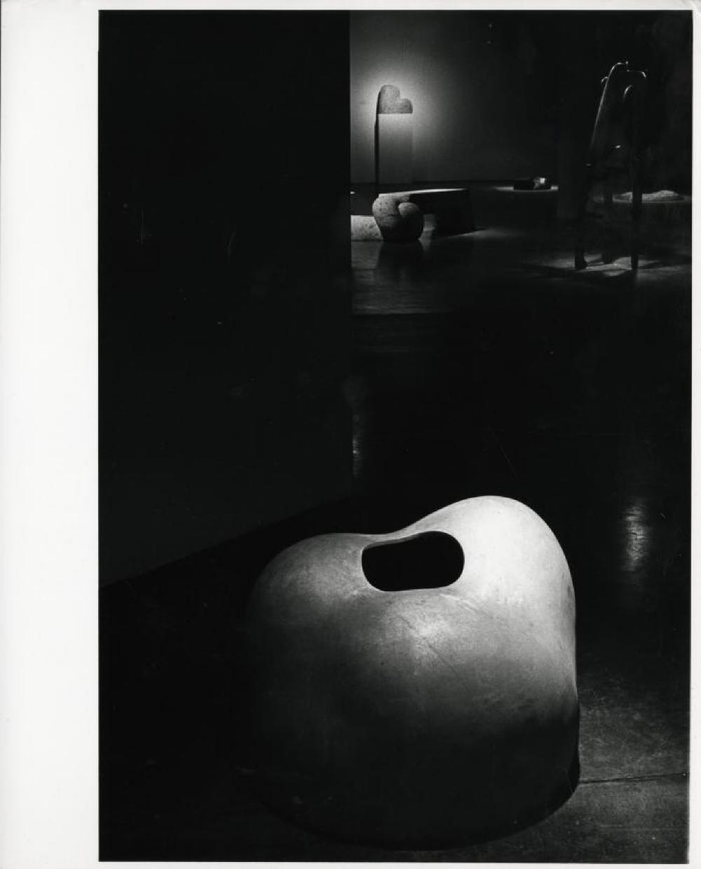 """""""Isamu Noguchi: The Sculpture of Spaces,"""" Whitney Museum of American Art, February 5, 1980 - April 6, 1980."""