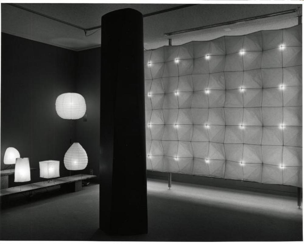 """Isamu Noguchi: Light Sculptures,"" Gallery Kasahara, April 1989."