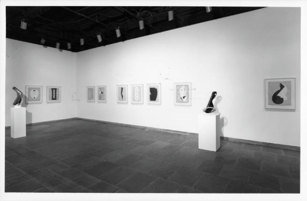 """""""Isamu Noguchi: Early Abstraction,"""" Whitney Museum of American Art, April 21 , 1994 - June 19, 1994."""
