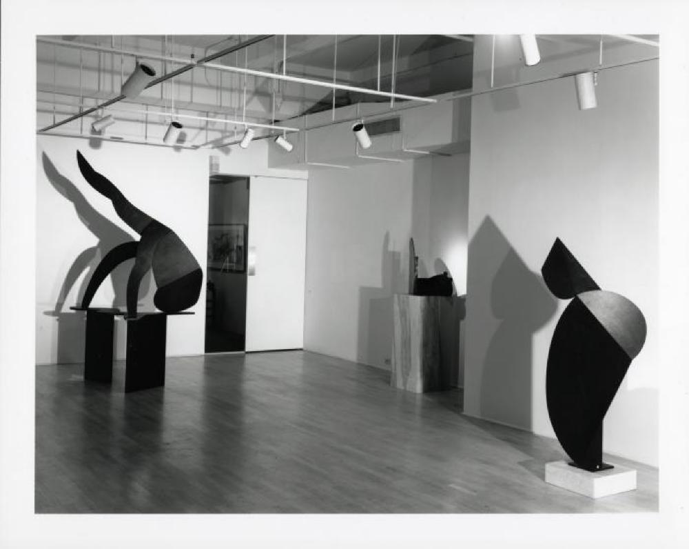 """Isamu Noguchi - The Bronzes: 1987-88,"" Arnold Herstand Gallery, May 6, 1988 - June 18, 1988."