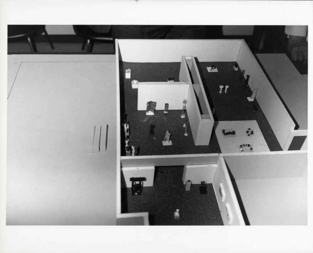 """Isamu Noguchi Retrospective 1992 Japan,"" National Museum of Modern Art, Tokyo, March 13, 1992 - May 10, 1992; May 25, 1992 - -July 5, 1992."