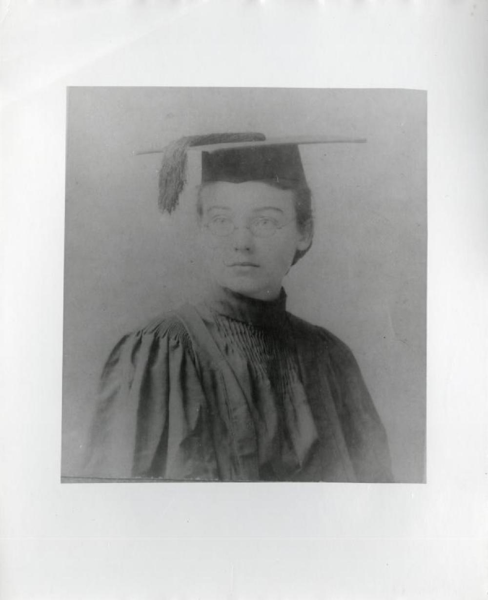 Portrait of Leonie Gilmour