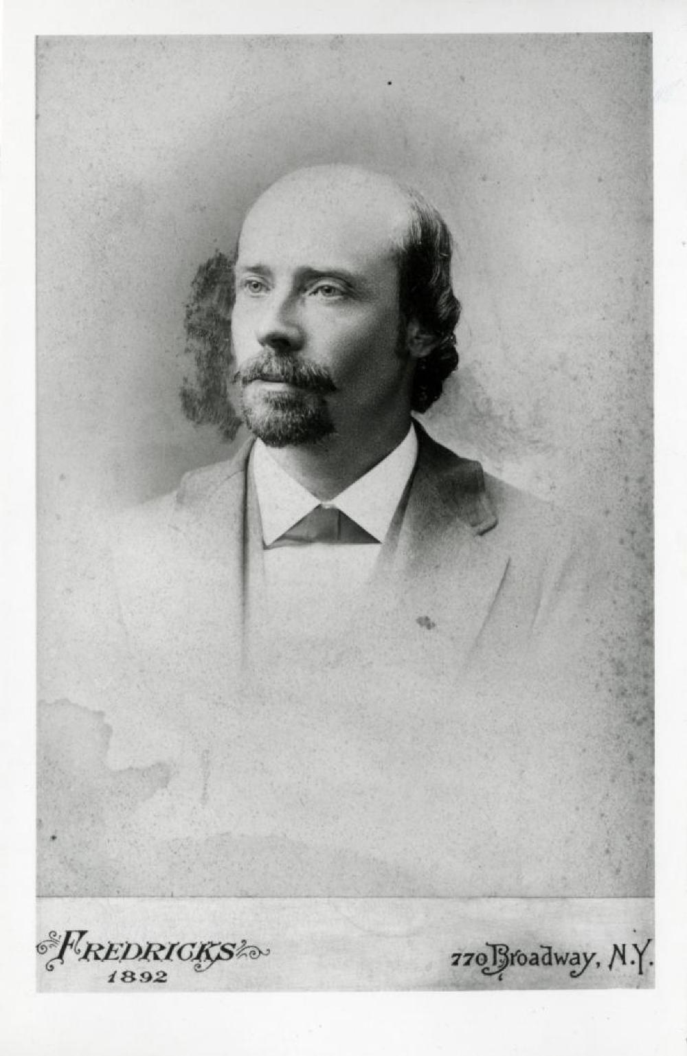 Portrait of Andrew Gilmour: Isamu Noguchi's grandfather, Leonie's father