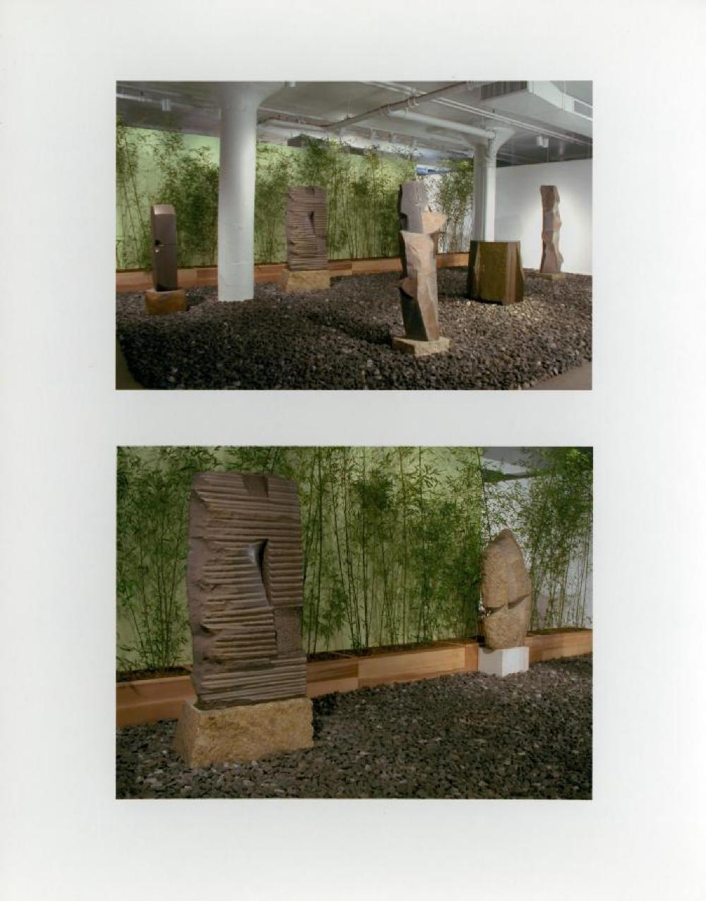 """Sculpture and Nature,"" The Noguchi Museum, Sunnyside, June 29, 2002 - January 13, 2003."