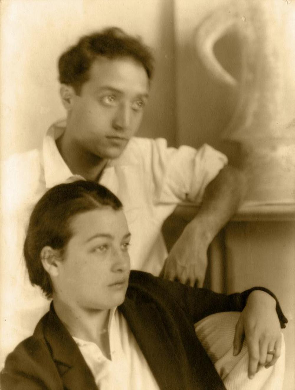 Isamu Noguchi with Marion Greenwood