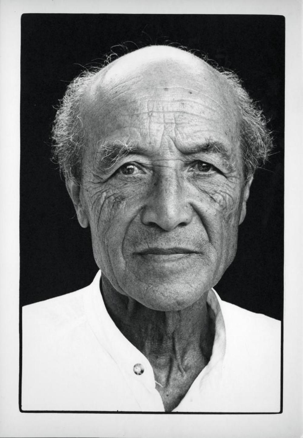 Portrait of Isamu Noguchi in Greece