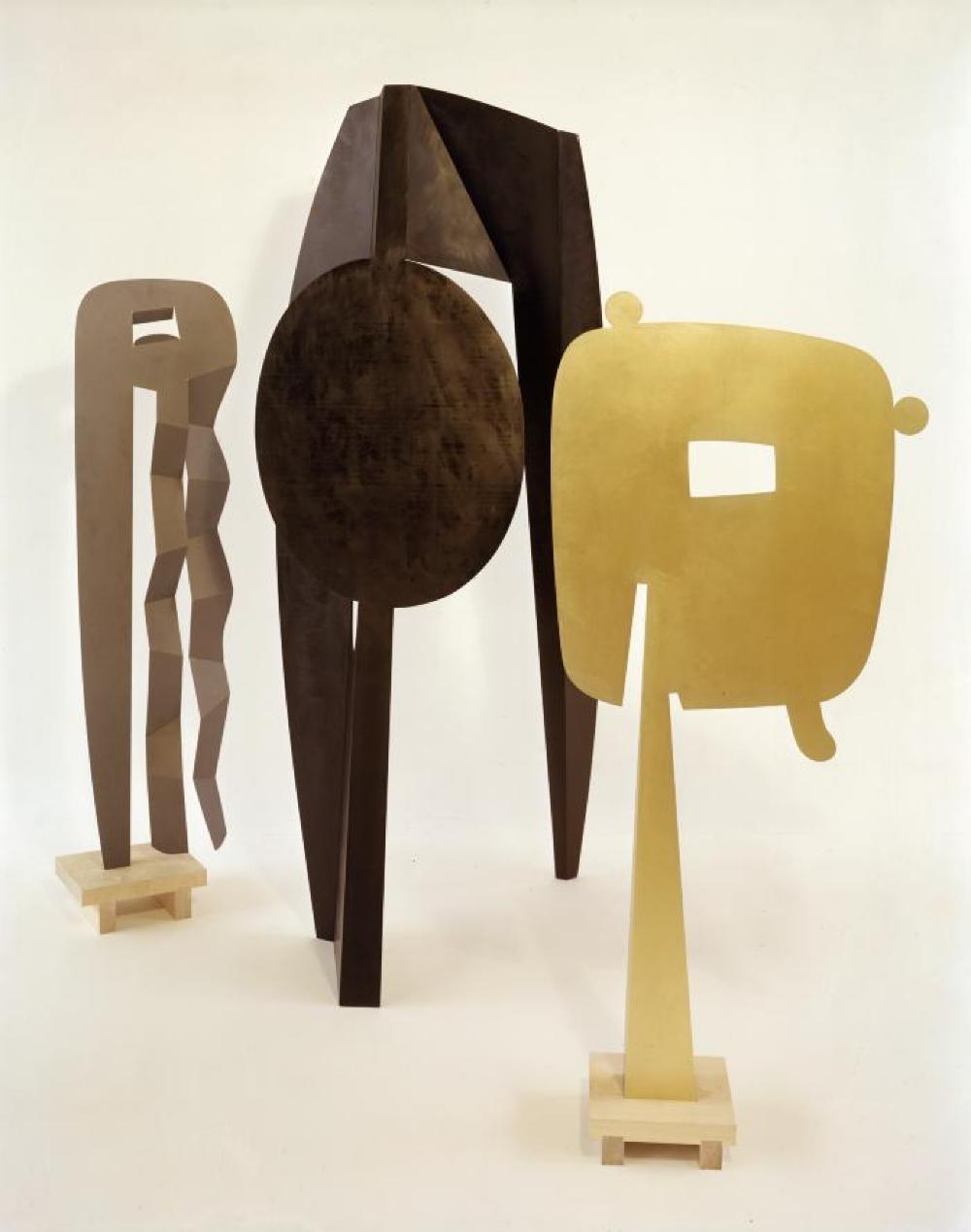 The Kite, 1959; The Mirror, 1958; Man Walking, 1959.