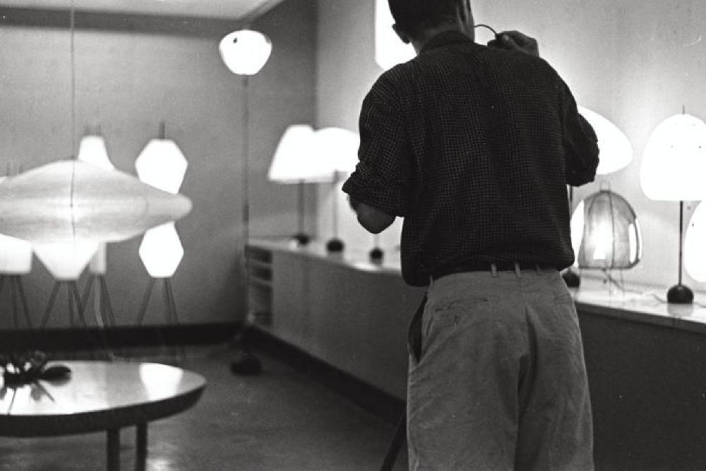 Chuo Koron Gallery exhibition; Isamu Noguchi