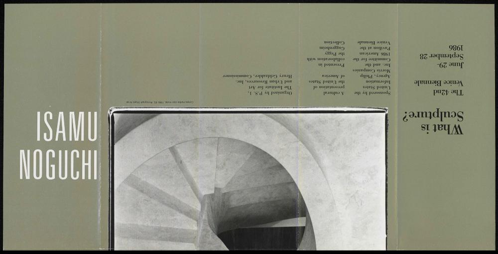 Venice Biennale brochure